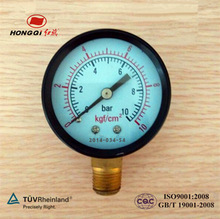50mm(2'') bottom/back connection steel case pressure gauge