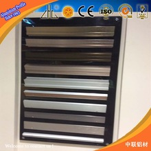Great 6000 series aluminum profile offering,various high quality colour anodized aluminium,supplier/manufacturer,OEM