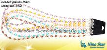 Eyewear Reading glass Sunglass Beaded Glass Crystal Acrylic Chain Lanyard Cord Holder