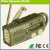 Noaa weather handle dynamo rechargeable led radio flashlight