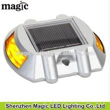 Solar powered LED solar Road studs lamp