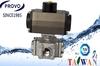 Taiwan 4-way types of pneumatic water valve
