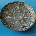 nouveau modèle alimentaire plat en céramique plaque 10874dg maroc