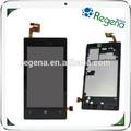 venta al por mayor pantalla lcd para nokia lumia 520 táctil digitalizador de la pantalla