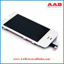 China wholesale LCD Touch Screen for iphone 4s with dust mesh and sponage pad