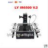 LY IR6500 V.2 bigger preheat area 240*200mm USB port bottom 2 PC fan PCB jigs 6 pcs Infrared BGA Rework Station