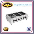 Table haut de gamme 6 brûleurs / industrielle 6 brûleur cuisinière à gaz