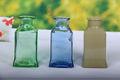 Venta al por mayor de lujo de la buena diseño tall clear glass jarrones venta