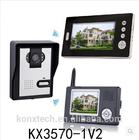 2.4GHz digital wireless video door phone video door bell Security Intercom system 500 meters transmission distance in open area