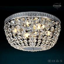 2014 new round lovely crystal ceiling lamps for France market ETL60196