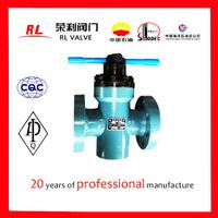 Oil field wellhead high pressure gate valve