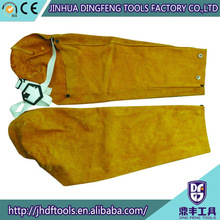 high quality leather safety welding sleeve