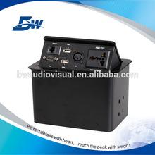 Bw-t650 masaüstü soket kullanılan ofis mobilyaları elektrik/masaüstü soket