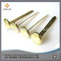 Wholesales metal brads ,8mm gold brads for scrapbooking