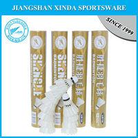 badminton shuttlecock for international tournament