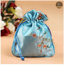 Sky blue Wedding pouch bags,sweet pouch accessory gift pouch CH166