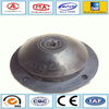 Conical rubber machinery vibration rubber plumbing fitting