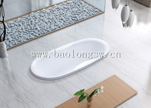 new product beautiful appearance meticulous and smooth space saving embedded acrylic bathtub for homeuse or in real estate