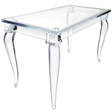 Clear acrylic table/acrylic restaurant table wholesale