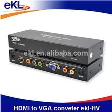 HDMI Converter, HDMI to VGA/YPbPr converter