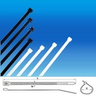 self-locking cable ties ,nylon 66, black &natural or white color cableties,strong force. good quality products
