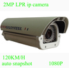 SONY CMOS 1080P ITS 2MP License Plate Observation IP Camera