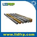 tube carré à fibre de verre à haute résistance