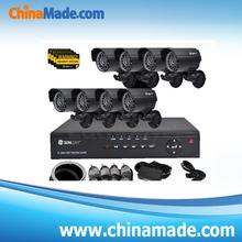 CCTV Surveillance System 8CH network DVR video security IR camera view SET