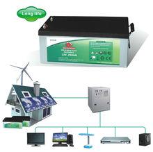 Hot Sale 12v 250ah deep cycle solar panel battery/battery for solar energy