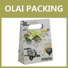 2014 fashionable handmade paper bag gift
