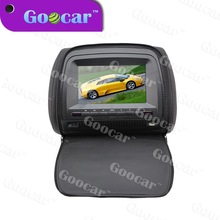 Compatible with DVD/CD/CDG/MP4/MP3/WMA/JPEG/RMVB(MP5) car dvd headrest