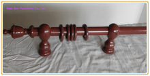 High Quality Wooden Curtain Rod Made In China
