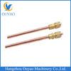 Refrigeration copper charging valve & access valve