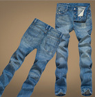 Hot Sell Brand Name Mens Slim Fit Denim Jeans