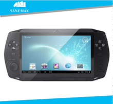 7 inch TFT LCD 800*480 OEM/ODM game console Cortex A8 1.2GHZ Android 4.0 Ice Cream Sandwich