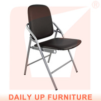 Comfortable Folding Conference Chair PU Leather Chair Wholesale Price with Free Shipment (50 chairs)to Singapore