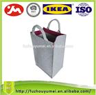 felt promotional tote bag for shopping