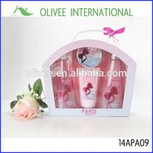 paris with love perfume body care set