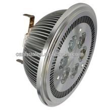 High power hot sale 6W spotlight led lamp G53, warm white led spot light ar111 g53/e27