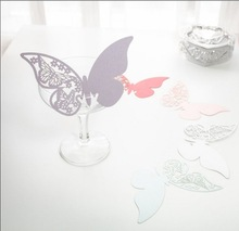 Butterfly Wedding Name Place Cards