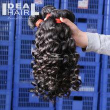wholesale natural color cheap 100% virgin brazilian hair extension 6a brazilian deep curl hair weaves
