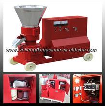 High pressure feed pellet machine for making premium pellets