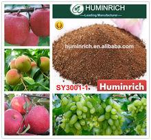 Huminrich Shenyang Fulvik Acid brown yellow powder water soluble fertilizer npk