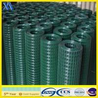 plastic welded wire mesh/galvanized welded wire mesh/welded rabbit cage wire mesh