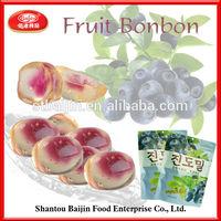 Blueberry Jam center Jelly ball Arabic gum use