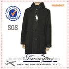 Sunnytex Long Style Best Selling Breathable black Winter Woollen Coat Men