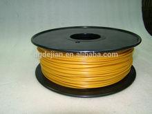 3D printer filament of PLA -Golden 3mm /1.75mm