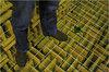 floor sound insulation fabirc acousic wedge panels