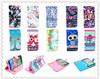 wholesale phone case flip PU leather case for samsung galaxy S5 with wallet and animal phone case