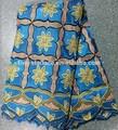2014 mais recentes de alta qualidade africano de algodão laço de tecido